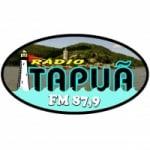 Logo da emissora Rádio Itapuã 87.9 FM