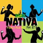 Logo da emissora Rádio Nativa Fortaleza 87.9 FM