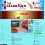 Logo da emissora Rádio Cristalina 103.7 FM