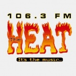 Logo da emissora Radio WCEM The Heat 106.3 FM