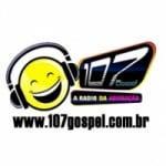 Logo da emissora Rádio 107 Gospel FM