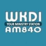 Logo da emissora Radio WKDI 840 AM