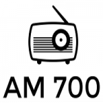 Logo da emissora Radio WFAT 700 AM