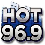 Logo da emissora Radio WBQT Hot 96.9 FM