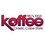 Logo da emissora Radio WKFY Koffee 98.7 FM