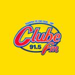 Logo da emissora Rádio Clube FM 91.5