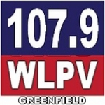 Logo da emissora Radio WLPV 107.9 FM