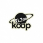 Logo da emissora KOOP 91.7 FM