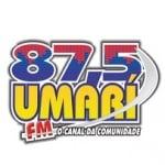 Logo da emissora Rádio Umari 87.5 FM