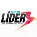 Logo da emissora Rádio Líder FM 105.5 Gospel