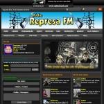 Logo da emissora Rádio Represa 87.5 FM