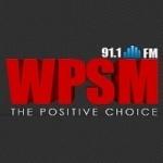 Logo da emissora Radio WPSM 91.1 FM