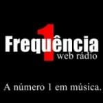 Logo da emissora Frequência 1 Web Rádio