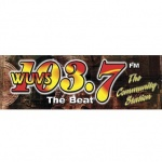 Logo da emissora WUVS 103.7 FM The Beat