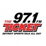 Logo da emissora WXYT 97.1 FM The Ticket