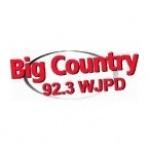 Logo da emissora WJPD 92.3 FM Big Country