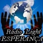 Logo da emissora Rádio Light Esperança