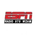 Logo da emissora WZAM 970 AM ESPN