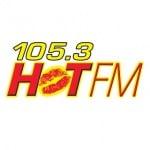 Logo da emissora WHTS 105.3 FM Hot