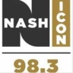 Logo da emissora WMIM 98.3 FM Nash