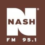 Logo da emissora WFBE 95.1 FM Nash