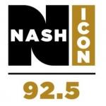 Logo da emissora WLAW 92.5 FM Nash Icon
