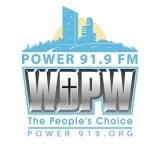 Logo da emissora WDPW 91.9 FM Power