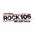 Logo da emissora WGFM 105.1 FM Rock