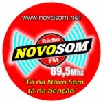 Logo da emissora Novo Som Gospel