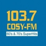 Logo da emissora WCSY 103.7 FM SuperHits