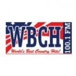 Logo da emissora WBCH 100.1 FM