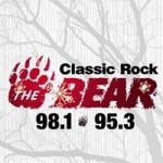Logo da emissora WGFN 97.7 FM The Bear