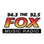 Logo da emissora WFCX 94.3 92.5 FM Fox