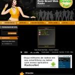 Logo da emissora Rede Brasil Web Rádio