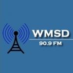 Logo da emissora WMSD 90.9 FM Bible Believing Radio