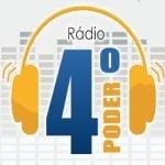 Logo da emissora Rádio Quarto Poder