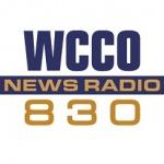 Logo da emissora WCCO 830 AM Newsradio