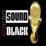 Logo da emissora Rádio Sound Black