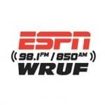 Logo da emissora Radio WRUF 850 AM
