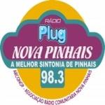 Logo da emissora Rádio Plug