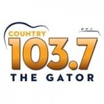Logo da emissora Radio WRUF 103.7 FM The Gator