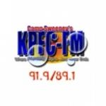 Logo da emissora KPFC 91.9 FM