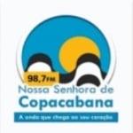 Logo da emissora Rádio Nossa Senhora de Copacabana 98.7 FM