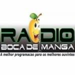 Logo da emissora Rádio Boca de Manga