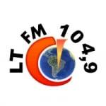 Logo da emissora Rádio LT 104.9 FM