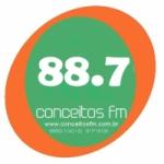 Logo da emissora Rádio Conceitos 91.1 FM