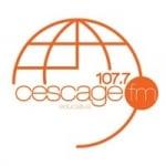 Logo da emissora Rádio Educativa Cescage 107.7 FM