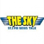 Logo da emissora WSKY 97.3 FM The Sky