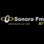 Logo da emissora Rádio Sonora 93.7 FM