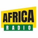Logo da emissora Africa Radio 107.5 FM